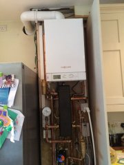 Viessmann  compact installed with Low loss header