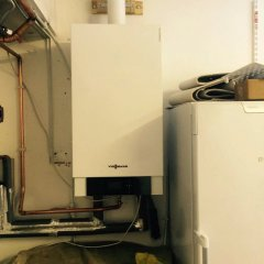 Upgrade a Potterton Suprima to a Viessmann 200-W system boiler with a Spirocross low loss header in St Albans